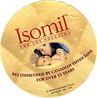 Isomil shelf talker